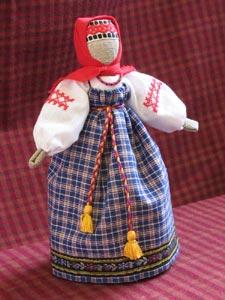 Кукла из ткани старинные